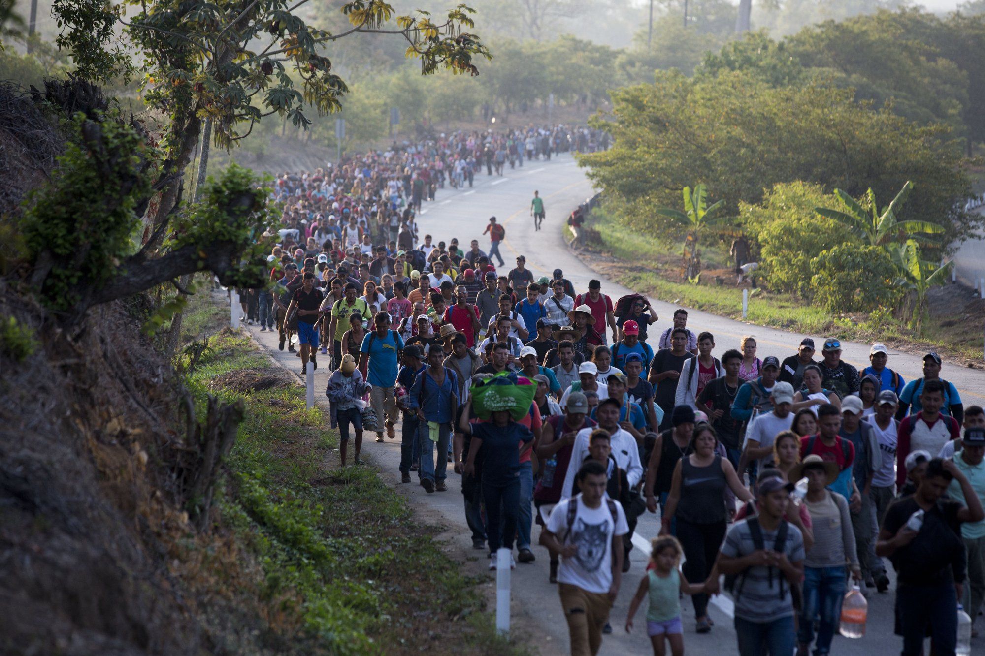 Frustration grows among migrants in Mexico as support fades